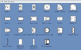 floor plan symbols bathroom.  Bathroom Bath Kitchen Symbols For Home Floor For Floor Plan Symbols Bathroom H
