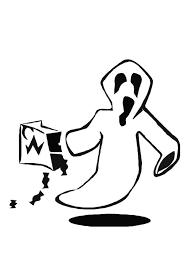 Kleurplaat Spook Afb 8596 Images