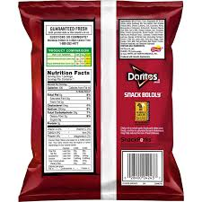 amazon doritos reduced fat nacho cheese flavored tortilla chips 1 ounce pack of 72