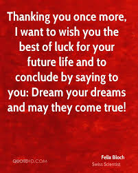 Wish You Best Of Luck Quotes