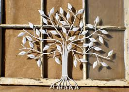 white metal art adorable outdoor indoor metal wall art wall decor tree of life white inspiration