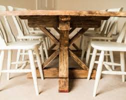 reclaimed wood furniture etsy. Farmhouse Dining Table - Reclaimed Wood Rustic Furniture Etsy