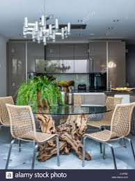 Tree Root Dining Table By Hugh Mclaughlin In Kitchen With