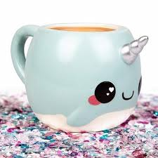 this cute narwhal mug is a great gift for your friend who loves narwhal