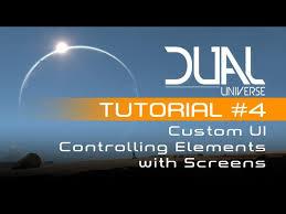 dual universe custom ui tutorial 4