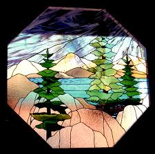 stained glass in tahoe donner