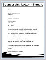 Letter Sponsorship Beauteous Corporate Sponsorship Letter Template DLSource