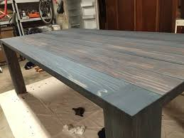 build dining room table. Simple Table Staining DIY Farmhouse Dining Room Table Throughout Build Dining Room Table