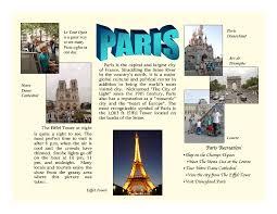 How To Make Travel Brochure How To Make Tourist Brochure Rome Fontanacountryinn Com
