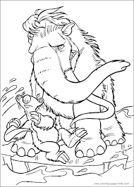 Small Picture Ice Age color page cartoon characters coloring pages color plate