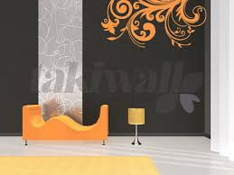 Small Picture Curly Wurly Floral print wall sticker shop Doha Qatar