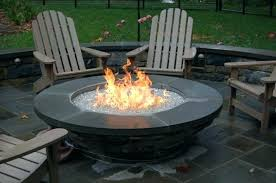building a gas fire pit build