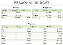 Simple Event Budget Template