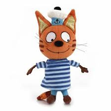 Мягкая <b>игрушка Мульти-Пульти Три кота</b>: Коржик 18 см - купить в ...