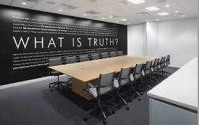 ad agency office design. One Meeting Room\u0027s Entire Wall Is Dominated By The Question, \u201cWhat Truth?\u201d (Tom Arban) Ad Agency Office Design O