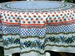 french country tablecloth round tablecloths rooster ta print round country