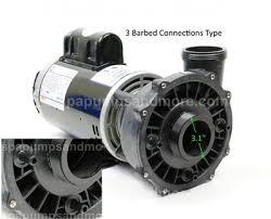waterway hi flo spa pump speed v a waterway executive 56 pump 3721621 1c 3 barbed drain ports 37216211c pf 40