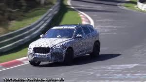 2018 jaguar f pace svr.  pace 2018 jaguar fpace svr spied testing on the nurburgring nordschleife throughout jaguar f pace svr