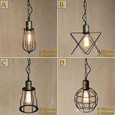 black wrought iron pendant lights vintage small iron cages pendant lighting ceiling lamp american hallway entry
