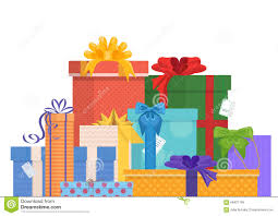 Design Pack Gifts Birthday And Christmas Holidays Wrapped Gift Gifts Pack