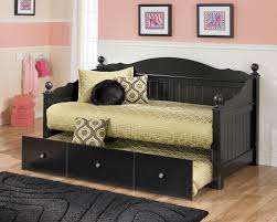 lovely wood daybed with trundle perfect jaidyn transitional black full poster trundle day bed white wooden uk to apply for home decor