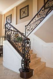 3 tags Traditional Staircase with limestone tile floors, Wainscoting, High  ceiling. Joenguyen12  Home Design Ideas