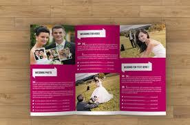 Free Wedding Brochure Templates Download 26 Wedding Brochure ...
