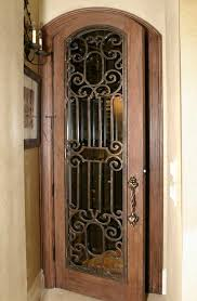 Wine Cellar Iron Doors & Gates Texas & Florida - Cantera Doors