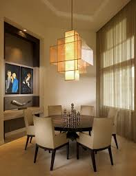 miami filament bulb chandelier dining room contemporary with large top standard height tables dark wood table