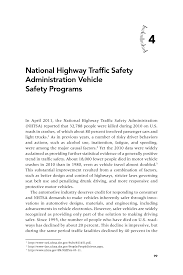 4 National Highway Traffic Safety Administration Vehicle