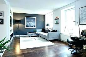 incredible dark grey accent wall in living room gray co with