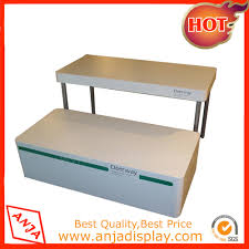 shoe display stand round display table