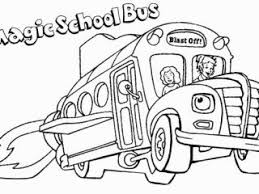 Small Picture Coloring Books Magic School Bus Coloring Pages New In Photography