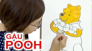 Tô Màu Gấu Pooh ❤SUBI TV❤ - YouTube