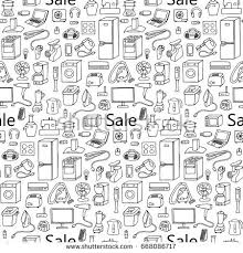 Pattern Sale Delectable Royaltyfree Hand Drawn Gamer Seamless Pattern With 48