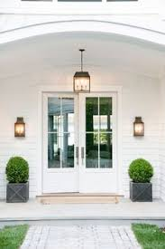 white double front door. Don\u0027t Be Fooled By The Grand, Monochromatic Entry. Beyond Those White Double Front Door P