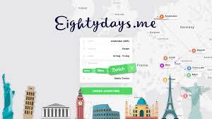 Eightydays Me Booking Multi City Eurotrips Made Easy
