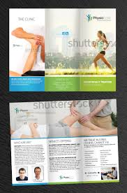 Physiotherapy Leaflet Design Brochure To Advertise Our Unique Physiotherapy Clinic To