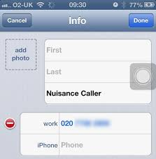 Numbers To Phone Block Nuisance Stop Callers Any How On Iphone tqOgxOwa