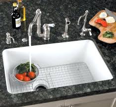 white kitchen sink undermount white undermount kitchen sink australia