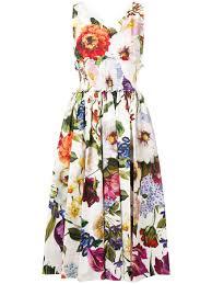 Dolce Gabbana Dress Flower