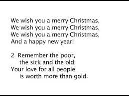 We Wish You a Merry Christmas! Lyrics - YouTube