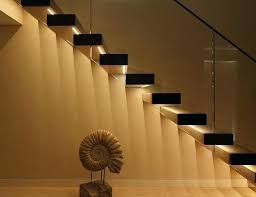 led stairway lighting. Stairway Led Lighting Top Ideas Spectacular With Modern  Interiors Pathlights Wireless Stair Lights Set Of 3 For Hallway Led Stairway Lighting
