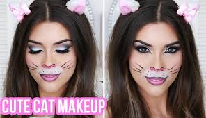 cute y cat makeup tutorial designs of quick and easy costumes