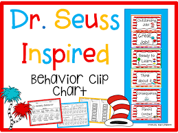 Dr Seuss Chart This Dr Seuss Inspired Behavior Clip Chart Is A Great Way