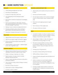Home Inspection Checklist 2 Repair Pricer