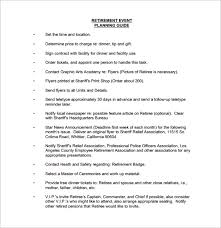 Party Planning Templates Party Planning Templates 16 Free Word Pdf Documents