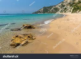 Wild Paradise Beach On Corfu Islandgreece Stock Photo (Edit Now) 216488908