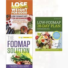 Fodmap Diet Chart Low Fodmap Diet 3 Books Collection Set The Fodmap