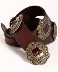 zoomed image idyllwind women s highway 65 concho belt brown